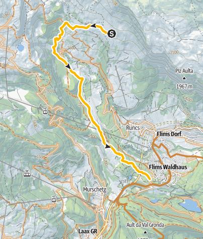 Map / 694 Runca Flowtrail Freeride