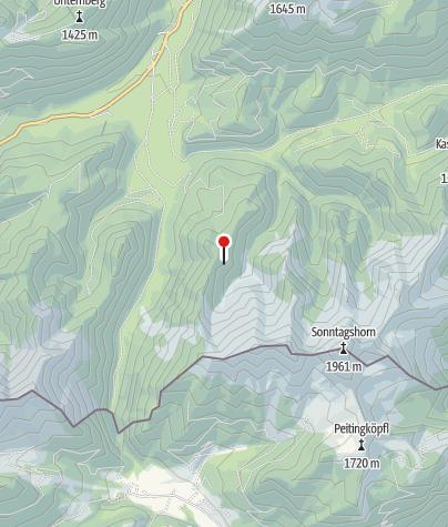 Karte / Adlerkopf-Diensthütte