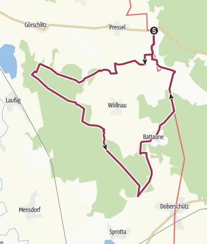 Karte / Rund um Wöllnau