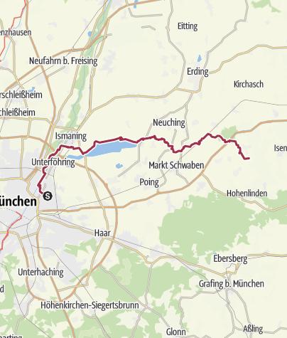 Karte / Tourenplanung am 29.09.2019 11:52:56
