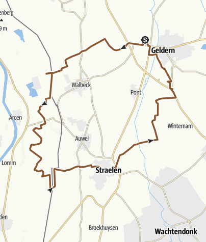 Mapa / Geldern--Holland - Geldern