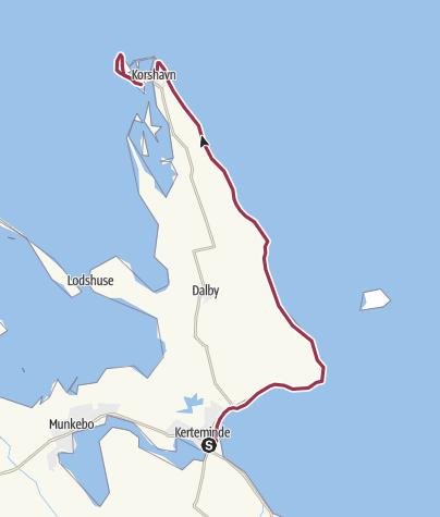 Map / Kerteminde - Korshavn