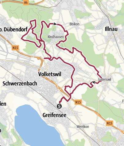Mapa / Tour aus GPX-Track am 4. Oktober 2019