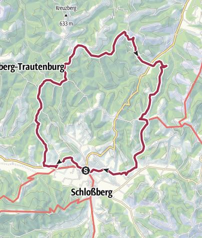 Karte / Kleeblattwanderweg Nr. 4 - Wandern in Leutschach a.d.W.