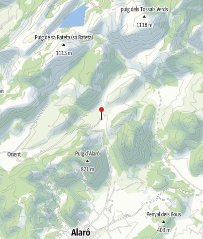 Karte / Finca Solleric