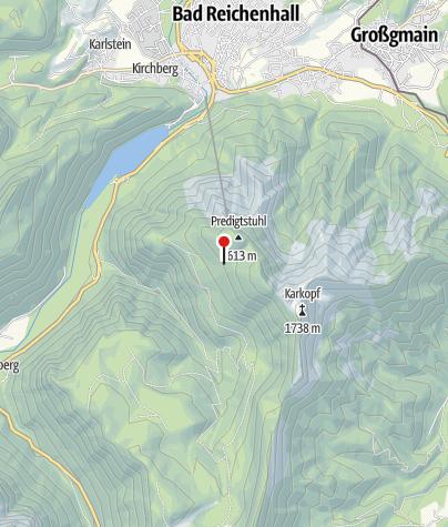 Karte / Obere Schlegel-Alm (Diensthütte)