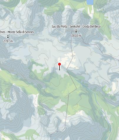 Karte / Sennes Hütte