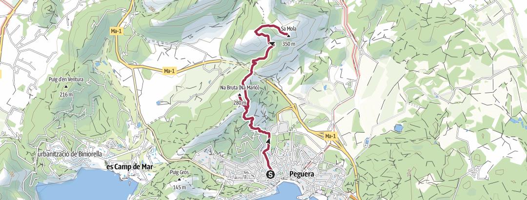מפה / Sa Mola
