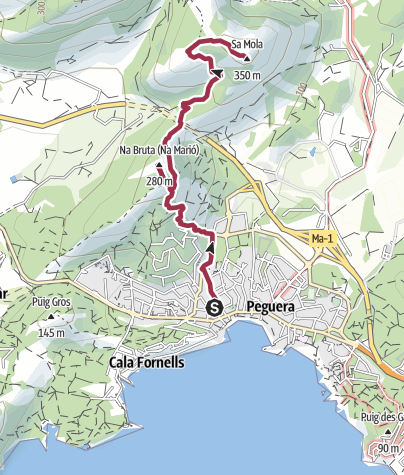 Mappa / Sa Mola