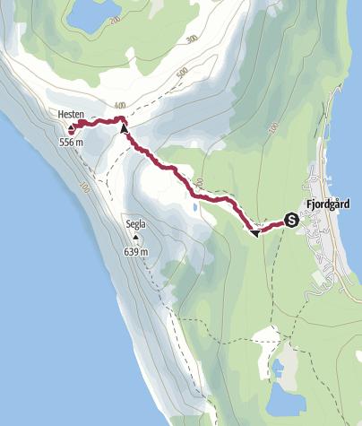 Mapa / Planificación de ruta del 8 de octubre de 2019.
