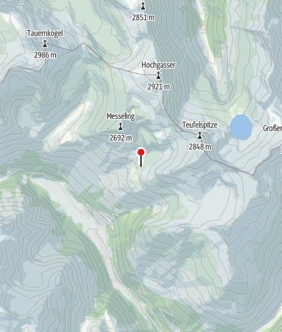 Karte / Grünseehütte
