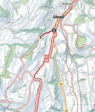 Mapa / Wissengubel Wasserfall