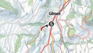 מפה / Wissengubel Wasserfall