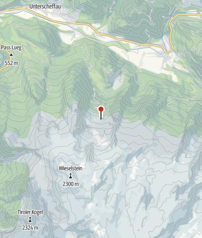 Karte / Stefan-Schatzl-Hütte