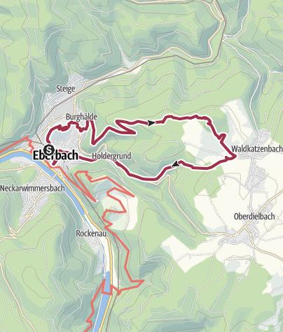 Map / 2019-10-27 Eberbach - Ohrsberg - Katzenbuckel - Holdergrund