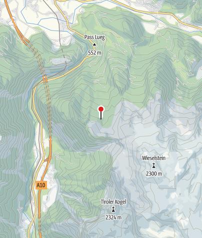 Karte / Berglerhütte