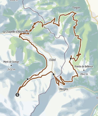 Carte / Chablais Léman Race - Gravel