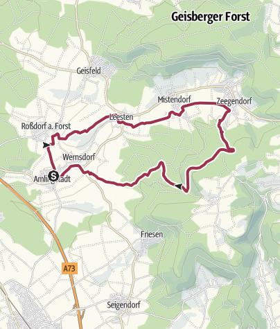 Karte / Rundwanderung: Zeegentalrunde
