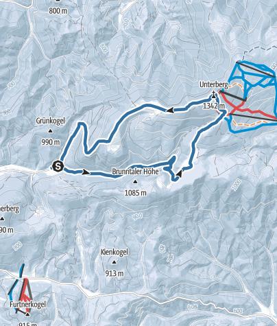 Map / Unterberg von Gries