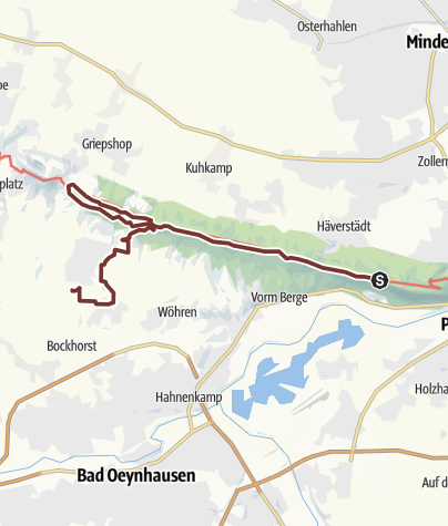 Map / Route planned at 30 Oct 2019 08:07:52