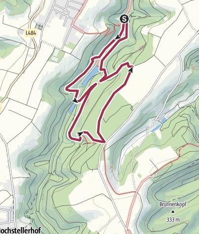 Karte / VielPfalz Extra Familienwandern: Tour 07 - Pirmasens
