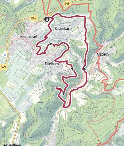 Map / Wäller-Tour Augst
