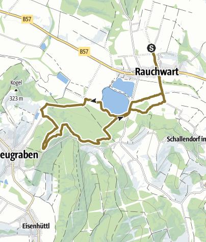 Karte / RW-Heugraben-RW Bergen