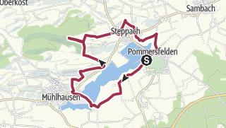 Karte / Rundweg P5 - Pommersfelden - Mühlhausen