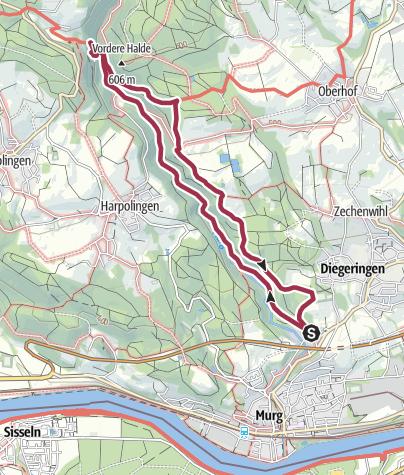 Karte / Murg: Murgtal und Thimos