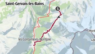 מפה / TMB DAY 1