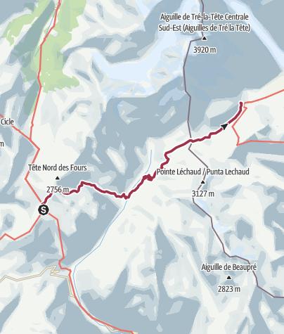 מפה / TMB day 3