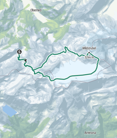 Map / Wildstrubel Westgipfel