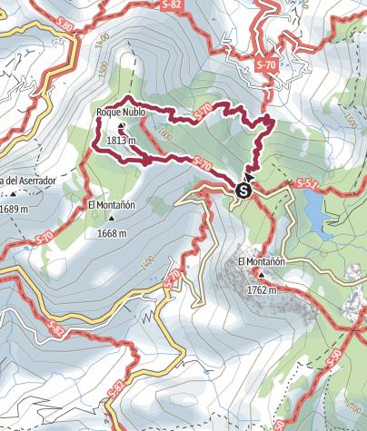 Cartina / Itinerario da un GPX-Track il 20 novembre 2019