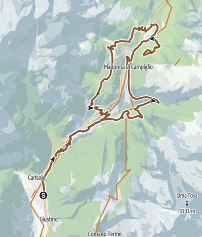 Cartina / E-Dolomitica 2020