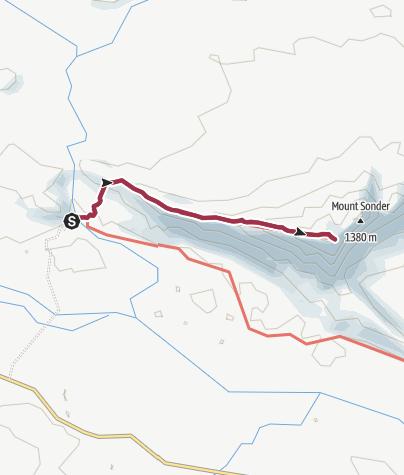 Map / Mount Sonder