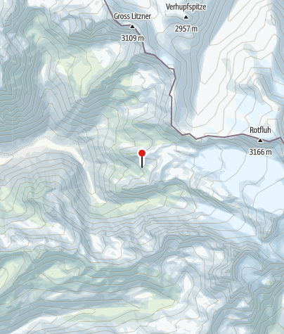 Map / Silvrettahütte (SAC)