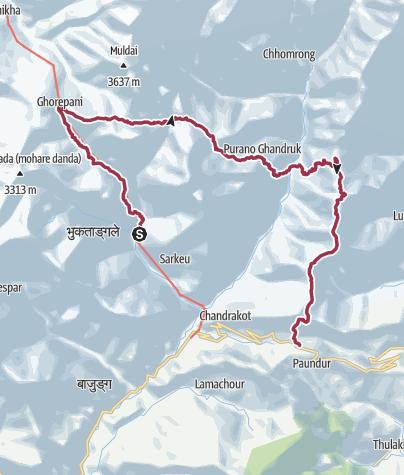Map / Familienreise: Nepal zum Kennenlernen (T119-fam)