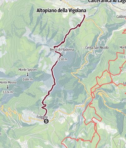 Kart / Vigolana: Traversata da Folgaria a Vattaro