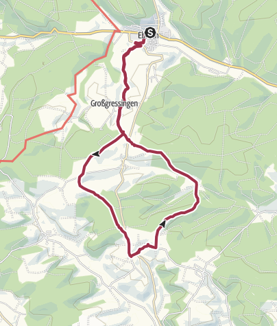 Karte / Ebrach - Großgressingen - Großbirkach - Winkelhof - Ebrach