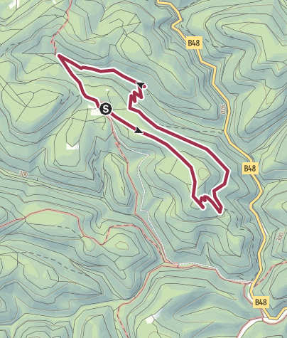 Karte / Ums Forsthaus Annweiler
