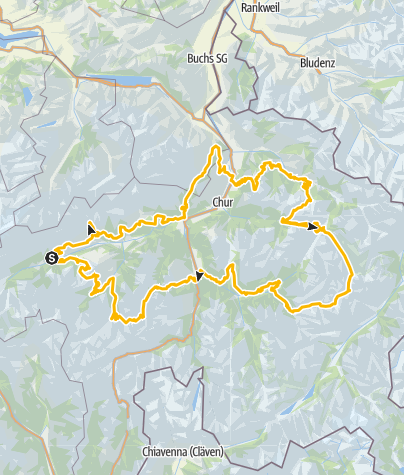 Map / 90.1.-11. Graubünden Bike