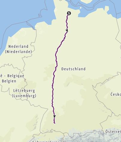 Karte / Tourenplanung am 31.12.2019 15:31:04