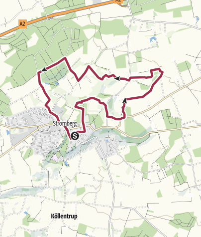Map / B+H-2020-01-09: Stromberg, teilweise Pflaumenpfad