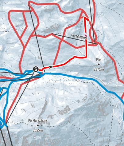 Map / Skihaus Alp Trida - Alp Bella (W10)
