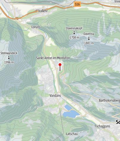 Karte / Ferienwohnung Wachter