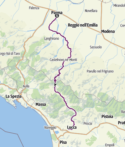 Map / Route planned at January 14, 2020