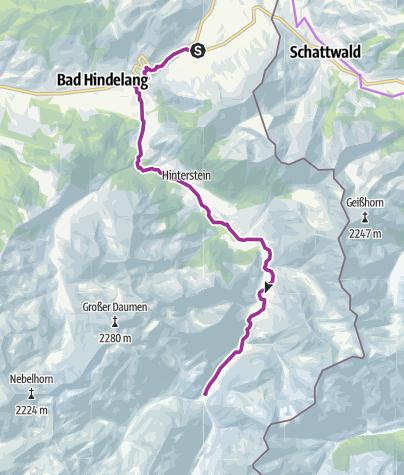 Karte / Panoramahotel Oberjoch - Giebelhaus