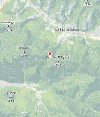Karte / Jagdhütte 1060m (Sommer)