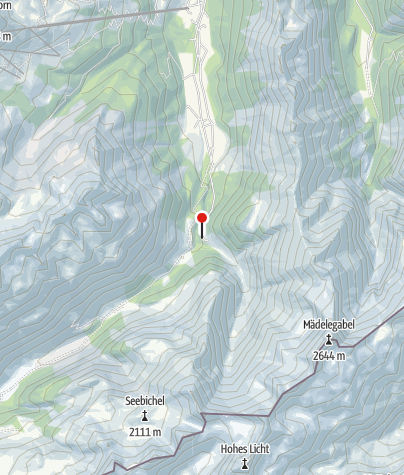 Karte / Berggasthof Einödsbach