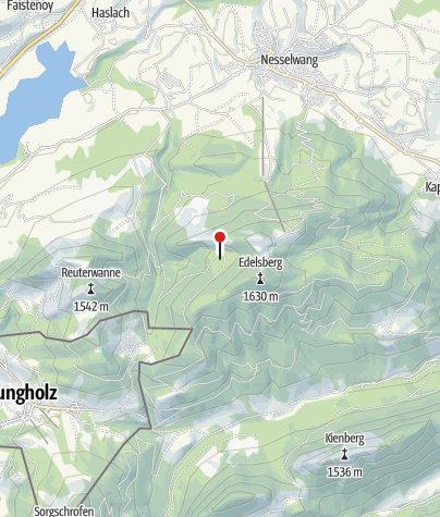Karte / Alpe Oberer Berg